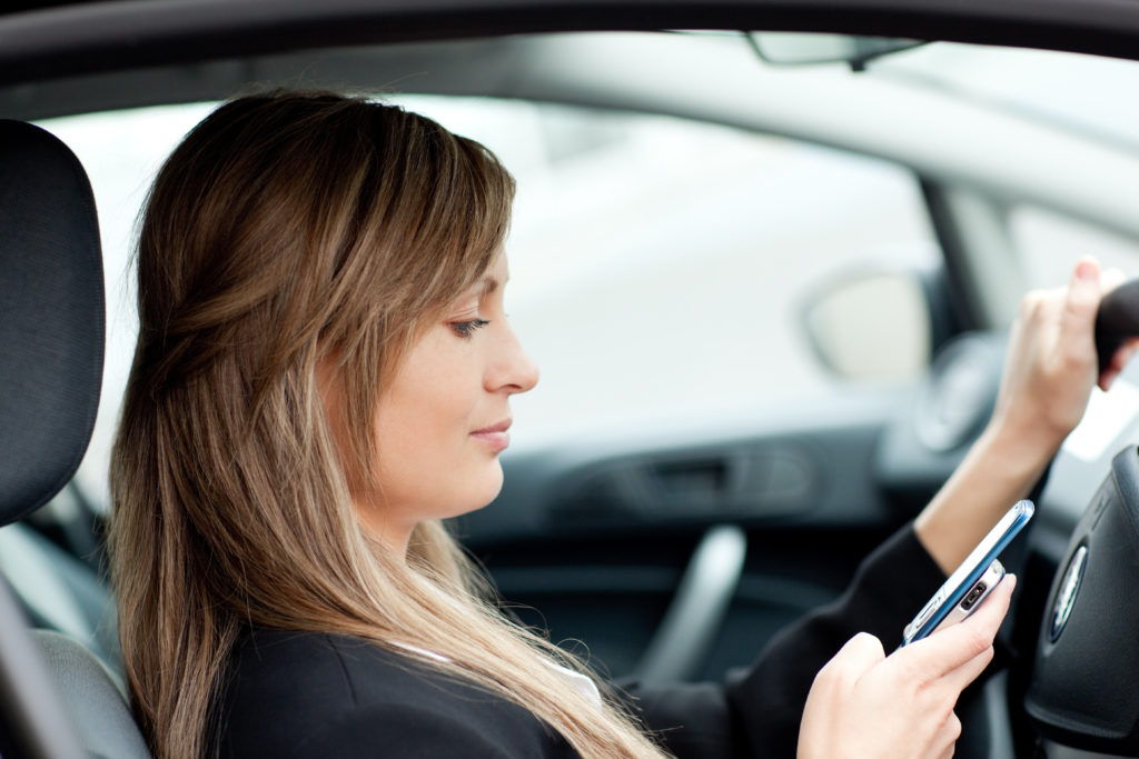 car accident attorneys - distracted drivers
